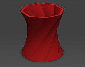 Decorative Flower Pot 8 3D printable model