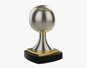 Trophy ball tennis 3D model