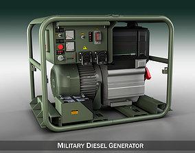 3D Military diesel generator