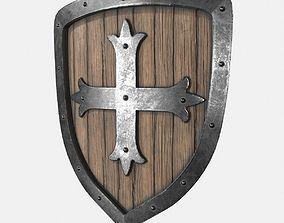3D model Shield Wood