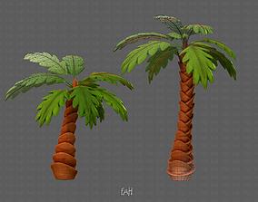 3D model Trees Cartoon V06