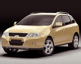 3D model Generic Modern SUV