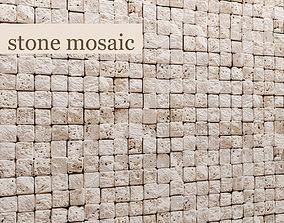 Stone mosaic marble 3D model