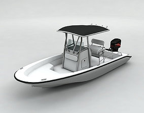 Fishing Boat Boston Whaler 1 3D model