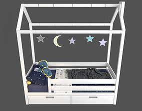3D Bed-house Sweet Dreams Kids