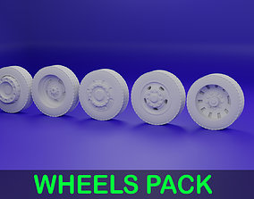 3D print model 5 Wheels Pack