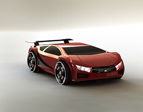 Lamborgini like concept car 3D model