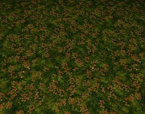 ground grass tile 27 3D