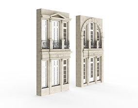 3D model Classic Exterior Windows