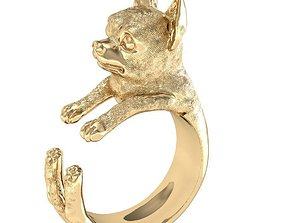 ring doggy high detail rhiho 3D printable model