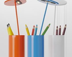 Formagenda Aluminium Table lamp Pen Holder 3D