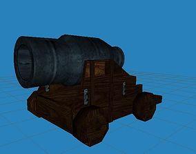 3D model fantasy cannon