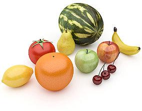 Fruits Pack 3D asset