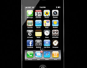 iphone-4 3D iPhone 4g