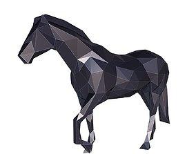 Horse Low Poly v2 3D model