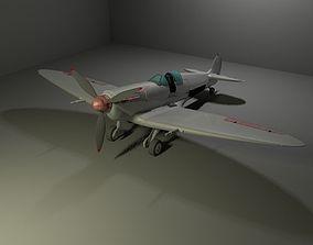 Spitfire 3D model rigged