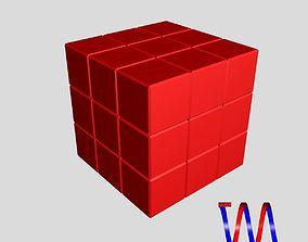 Soma puzzle 3D model