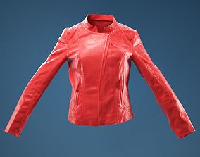 Shiny Jacket Closed 3D