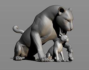 Leopards 3D printable model