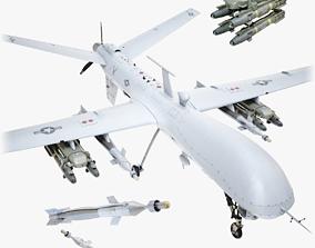 Drone Predator 3D model