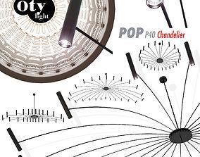 Chandeliers Oty light POP 40 Chandelier furniture 3D