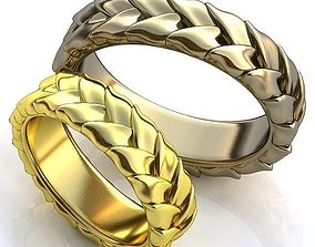 3D print model Gold Metal Rings fashion-and-beauty