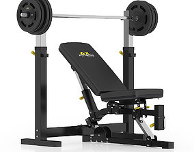 3D model Adjustable Weight Bench