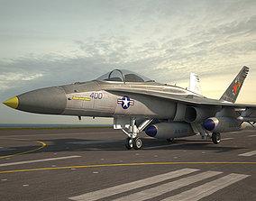 McDonnell Douglas F-A-18 Hornet 3D