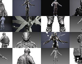 Sci-Fi Characters Part 5 3D