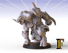 Minotaur chaos 3D print model