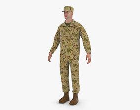 3D model work Soldier