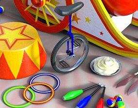 3D model circus Circus Props