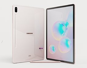3d 3D Samsung Galaxy Tab S6