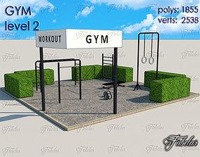 Gym Level 3D model