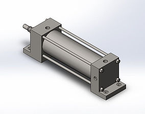 3D model Hydraulic Cylinder assembly
