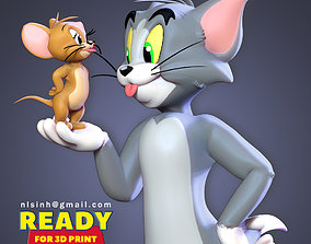 3D print model Tom and Jerry