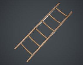 3D model VR / AR ready Ladder middle