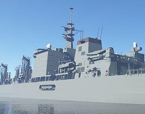 JMSDF Supply ship Mashu 3D model