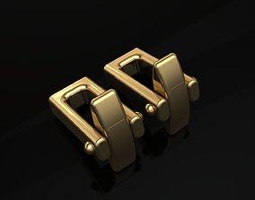 3D print model Cufflinks Lock 2