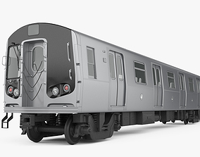 R160 NYC Subway car 3D