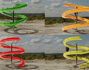 Water Slide 3D models