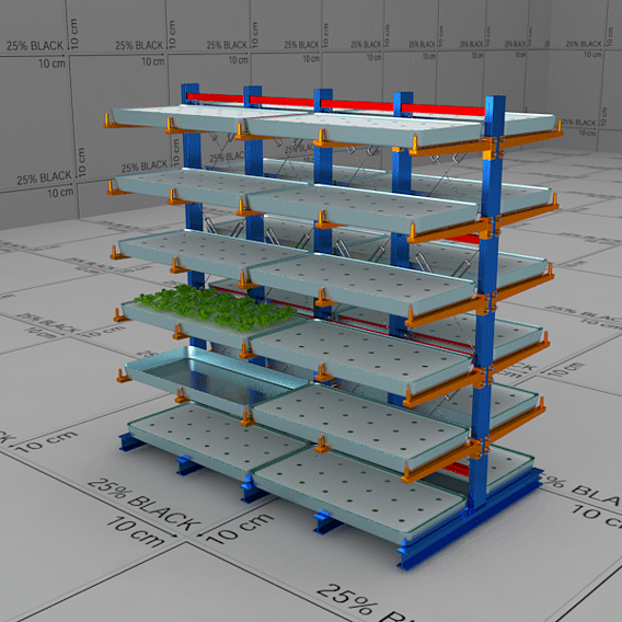 Racks Design for Hydroponic Planting
