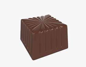 3D Candy square