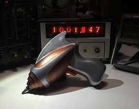 3D printable model The Star Pilots Screw Pistol