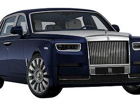 3D model 2018 Rolls-Royce Phantom A Moment in Time