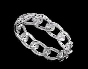 bracelet panther necklaces 3D print model