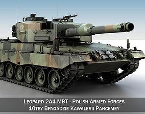 Leopard 2A4 MBT - Polish Armed Forces ii 3D model
