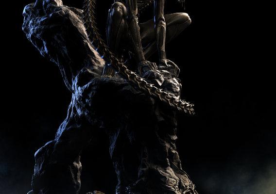 Alien Xenomorph Big Chap