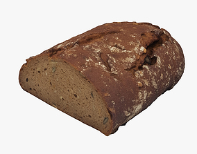 Loaf of Bread 006 3D model