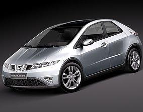 Honda Civic 2010 europe japan 3D Model
